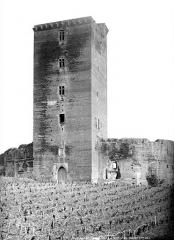 Château - Donjon, côté est