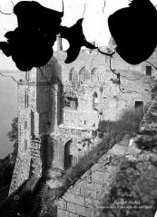 Abbaye et dépendances - Cloître : Façade extérieure