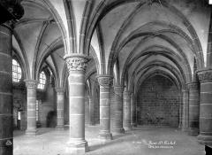 Abbaye et dépendances - Salle des Chevaliers : Vue intérieure