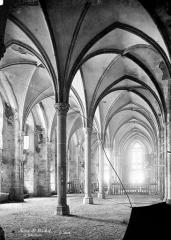 Abbaye et dépendances - Réfectoire : Vue intérieure
