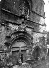 Eglise Saint-Dominique - Portail de la façade ouest