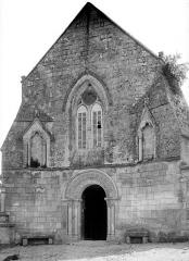Eglise Saint-Hilaire - Façade ouest