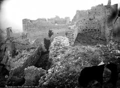 Château (restes du) - Vue d'ensemble