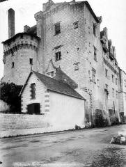Château - Façade extérieure sur la Loire