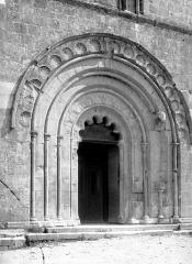 Eglise Saint-Maurice - Portail de la façade ouest