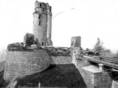 Ancien château - Ensemble, côté est