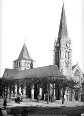 Ancienne abbaye - Eglise : Ensemble nord-ouest