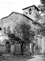 Eglise Saint-Géraud - Angle sud-ouest