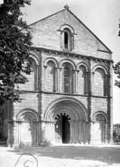 Eglise Saint-Denis - Façade ouest