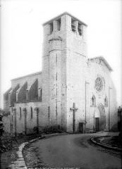 Collégiale Saint-Martin et maisons adossées à son chevet - Ensemble nord-ouest