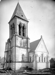 Eglise Saint-Martin de Namps-au-Val - Ensemble sud-est