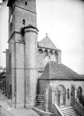 Eglise Saint-Christophe - Angle nord-ouest