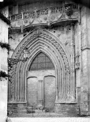 Eglise Notre-Dame - Portail de la façade nord