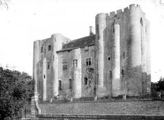 Château de Niort - Ensemble, côté rivière