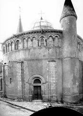 Eglise Saint-Etienne - Rotonde, côté ouest