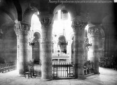 Eglise Saint-Etienne - Vue intérieure de la rotonde