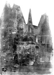 Château d'O - Façade, côté de l'entrée