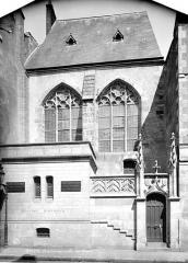 Ancienne université - Salle des Thèses : façade sur rue