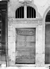 Maison dite d'Agnès Sorel ou Hôtel Euverte-Hatte, actuellement Centre Charles Péguy - Porte d'entrée