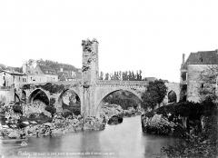 Vieux Pont - Vue d'ensemble en aval