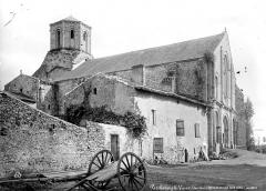 Ancienne église priorale Saint-Pierre de Parthenay-le-Vieux - Ensemble nord-ouest