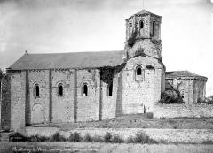 Ancienne église priorale Saint-Pierre de Parthenay-le-Vieux - Ensemble sud