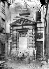 Fontaine dite de Jarente - Vue d'ensemble