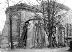 Eglise Saint-Pierre-de-Montmartre - Abside, côté nord