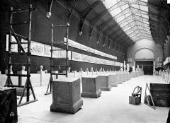 Palais de Chaillot - Musée de sculpture comparée : vue intérieure de la salle des Antiques