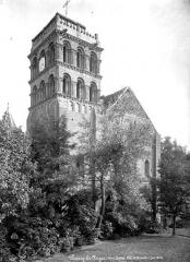 Eglise Saint-Pierre et Saint-Benoît - Clocher, côté nord-ouest