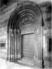 Citadelle - Chapelle : porte d'entrée
