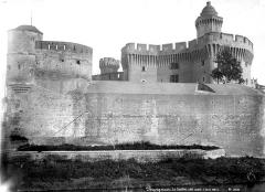 Castillet, Grand-Castillet, porte Notre-Dame ou Petit-Castillet - Ensemble ouest