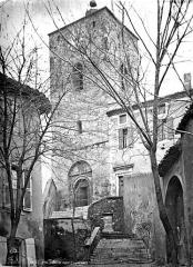 Eglise paroissiale Saint-Pierre - Façade ouest