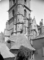 Eglise Saint-Armel - Clocher : partie inférieure