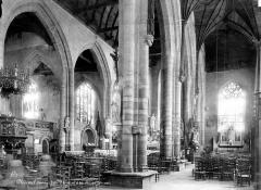 Eglise Saint-Armel - Vue intérieure de la nef et du bas-côté sud, vers le nord-est