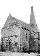Eglise Saint-Denis - Angle sud-ouest