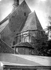 Eglise Sainte-Radegonde - Abside, côté sud-est