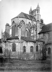Eglise Saint-Jean de Montierneuf - Chevet, côté nord