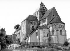 Abbaye Saint-Martin de Plaimpied - Ensemble sud-est