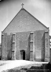 Abbaye Saint-Martin de Plaimpied - Façade ouest