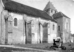 Abbaye Saint-Martin de Plaimpied - Façade sud