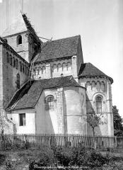 Abbaye Saint-Martin de Plaimpied - Abside, côté sud