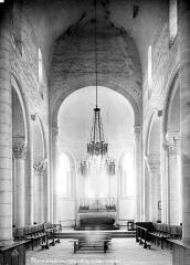 Abbaye Saint-Martin de Plaimpied - Vue intérieure du choeur