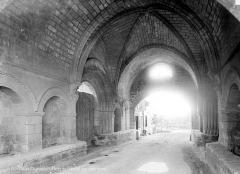 Ancien hôpital des Pèlerins - Passage des Pélerins : vue intérieure