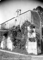 Chapelle Saint-Gilles - Ensemble nord-ouest