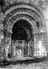 Chapelle Saint-Gilles - Portail de la façade ouest