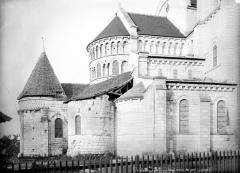 Eglise abbatiale bénédictine Saint-Pierre - Abside, côté nord