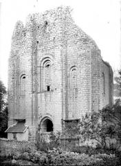 Château des Lions - Ancienne chapelle : façade d'entrée