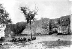Château de Puyguilhem - Entrée