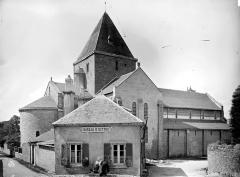 Ancien prieuré de Locmaria, ancienne caserne Emeriau - Eglise : ensemble nord